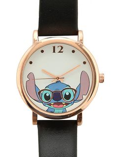 Disney Lilo & Stitch Nerdy Stitch Watch | Hot Topic