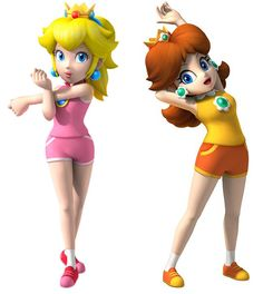 Princess Daisy and Peach in Sports Gear- so cute and a simple cosplay at that! Princess Peach Cosplay, Easy Cosplay, Simple Cosplay, Cosplay Ideas, Mario Kart Characters, Daisy Costume, Daisy Image, Peach Aesthetic, Aesthetic Anime