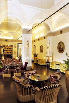 Hotel Bernini Palace. I miss this place.
