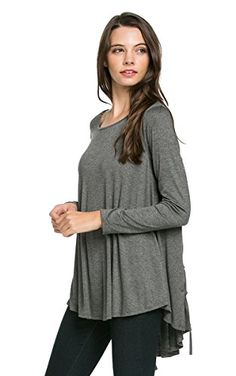 My Space Clothing Women's Round Neck Loose Fit Tunic Knit H CHARCOAL Small My Space Clothing http://www.amazon.com/dp/B017HYXP8K/ref=cm_sw_r_pi_dp_Q3JSwb05BSEZD