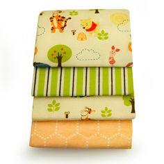 WINNIE THE POOH 4-Pack Receiving Blankets