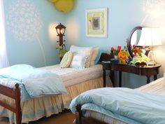 Lakeshore Cottage Living: Spring Has Sprung In My Girls' Room: A Reveal and a GIVEAWAY!