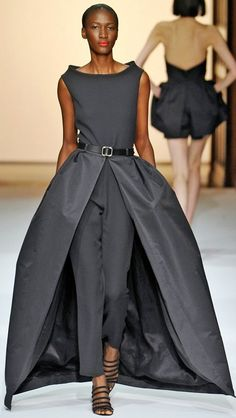 Martin Grant ss 2013. I'm wearing this...one day. Mother of the bride/groom (tighten the pants just a tad) then you have perfection