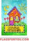 Grandkids Garden Flag House Flags, Garden Flags, Grandkids, Camping, Christmas Ornaments, Games, Holiday Decor, Fun, Home Decor
