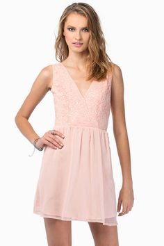 Looking for the Late Night Addie Blush Sequin Skater Dress? | Find Skater Dresses and more at Tobi! - 50% Off Your First Order - Fast & Free Shipping For Orders over $50 - Free Returns within 30 days!