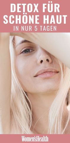 So bekommen Frauen in 5 Tagen richtig schöne Haut Detoxify the skin and then look fresher and younger – does it work? Yes, with a [. Beauty Care, Beauty Skin, Beauty Tips, Beauty Make Up, Detox Plan, Detox Kur, Full Body Detox, Beauty Hacks Skincare, Skincare Routine