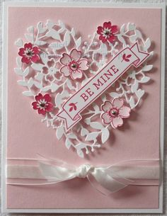 Pretty Pink Valentine by jreks - Cards and Paper Crafts at Splitcoaststampers