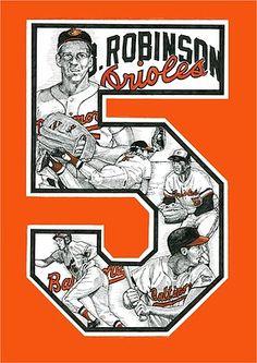 Brooks Robinson Baltimore Orioles Baseball, American League, Rock Posters, History, Memories, Board, Sports, Gifts, Memoirs