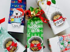 CANDY BOX PUNCH BOARD PROJECT AND TUTORIAL - YouTube Christmas Paper, Christmas Gifts, Envelope Punch Board Projects, Craft Show Ideas, Candy Boxes, Treat Bags, Craft Fairs, Candies, Projects To Try