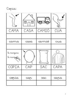 Caaco dos 1314_mt0112_r1_lectoescriptura4_estel Language, Letters, Words, Colors, Frases, First Grade, Vocabulary, Colour