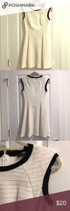 Dress Versatile white ABS dress in great condition. You can dress up with a blazer for work or wear alone. Dress up, dress down. It also has side pockets!  Falls above the knee. ABS Allen Schwartz Dresses Midi