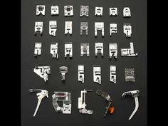 Kit com 32 Calcadores ou Sapatilhas Para Máquina Doméstica