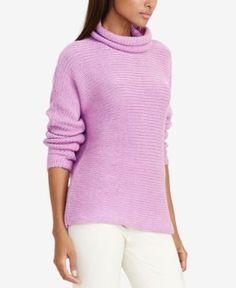 Lauren Ralph Lauren Dolman Funnel-Neck Sweater - Hyancith S
