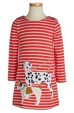 Mini Boden 'Fun' Appliqué Dress (Toddler Girls, Little Girls & Big Girls) available at #Nordstrom