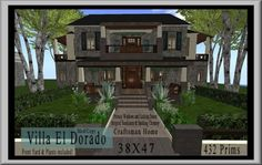Second Life Villa El Dorado