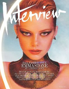 Interview September 2012 Emma Stone by Mikael Jansson