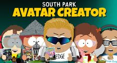 Create your own South Park alter-ego or make one for family and friends! Use your avatar on the South Park Studios forum or share it with friends online. South Park, Avatar Creator, The Creator, Girls Characters, Anime Characters, Studios, Video Series, Bff, Girls Heart