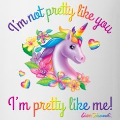 Unicorn - Lisa Frank Mug Cute Unicorn, Unicorn Art, Magical Unicorn, Rainbow Unicorn, Beautiful Unicorn, Lisa Frank Unicorn, Futaba Y Kou, Unicorn Pictures, Pictures Of Unicorns