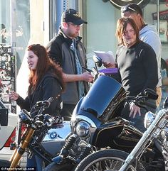 Lana Del Rey with Norman Reedus and friends #LDR