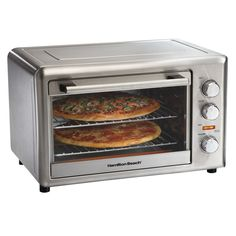 Hamilton Beach Counter Top Oven with Convection and Rotisserie (31103) - Stainless Steel : Toaster Ovens - Future Shop $100