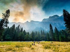 Smoke and Sunlight Image, Yosemite National Park | National Geographic Photo of the Day