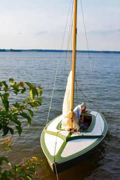 My antique Johnson Boat Works X-Boat
