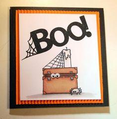 Carte Halloween 2014 # 1 (Scrapboocrys)