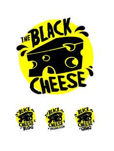 45 Ideas For Cheese Logo Branding Gfx Design, Food Logo Design, Logo Food, Graphic Design, Flat Logo, Creative Logo, Foodtrucks Ideas, Packaging Design, Branding Design