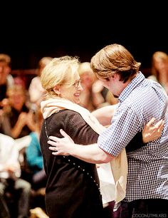 """""""Meryl Streep worked with me on a scene from """"Cat on a Hot Tin Roof"""". It was every bit as exciting as you would imagine...."""" ~ Master Class, Indiana University 2014"""