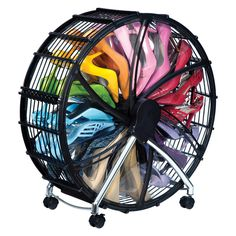 Shoe Wheel With Dust Cover Black