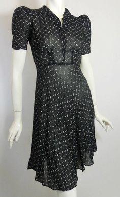 30s dress vintage dress vintage clothing