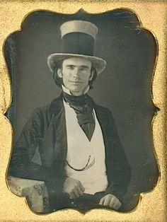 Tall hat daguerreotype