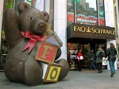 FAO Schwarz: Check out the free, daily storytime. Features a wide array of books for all ages, including sing-alongs, multicultural travel adventures, fairytales, and pirate tales. - Jonathan / Marketing Dept.