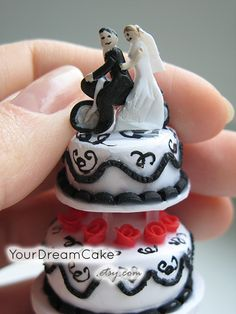 Yourdreamcake Wedding Cake Replica Ornament Dreamcake