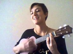 La Vie en Rose - Ukulele. Caitlin leow. this girl is amazing! such a pretty voice. makes me want to play the ukulele!!)