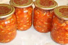 Домашняя консервация: Фасоль с овощами консервация