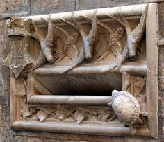 https://flic.kr/p/8f9nGj | Barcelona - Sta. Llúcia 003 b | Casa de l'Ardiaca  1902  Architect: Lluis Doménech i Montaner