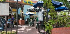 Old Colorado City's Bon Ton Cafe: Great breakfast menu and pleasant outside patio.