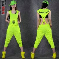 joggers women on sale at reasonable prices, buy 2018 Neon color Fashion Overalls Hip Hop Women Loose Streetwear Joggers Women Female Harem Trousers Female from mobile site on Aliexpress Now! Dance Fashion, Hip Hop Fashion, Hipster Outfits, Rave Outfits, Hip Hop Dance Outfits, Hip Hop Costumes, Dance Costumes, Estilo Hip Hop, Hip Hop Women