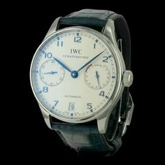 IWC - Portugaise 7 jours, cresus montres de luxe d'occasion, http://www.cresus.fr/montres/montre-occasion-iwc-portugaise_7_jours,r2,p27138.html