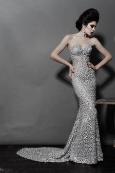 I think i have found my fav wedding dress designer! pnina tornai :)
