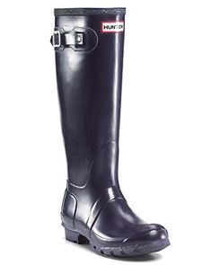 Hunter Women's Original Rain Boots - Aubergine [can't decide if I want glossy or not glossy]