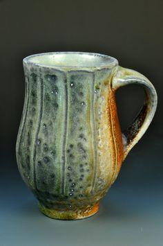 Anagama Wood Fired Coffee Mug by justinlambert on Etsy, $50.00