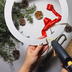 Christmas Decorations – Christmas tree with pasta – a unique product by Zielonepalce on DaWanda – BuzzTMZ Christmas Crafts To Make, Diy Christmas Ornaments, Christmas Projects, Simple Christmas, Holiday Crafts, Christmas Wreaths, Beautiful Christmas, Christmas 2019, Handmade Christmas