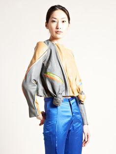 Martina SPETLOVA | Patchwork Leather Jacket