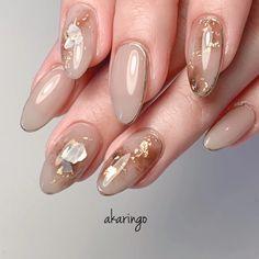 Asian Nail Art, Asian Nails, Korean Nail Art, Japanese Nail Design, Japanese Nails, Chic Nails, Stylish Nails, Nailart, Nagel Bling