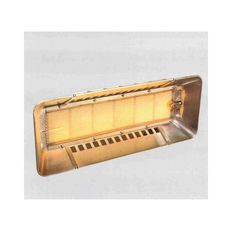 Reznor RZ Radiant Heaters (Manual & Automatic), Plaque Heaters for high level heating in workshops etc. Radiant Heaters, Manual, Textbook