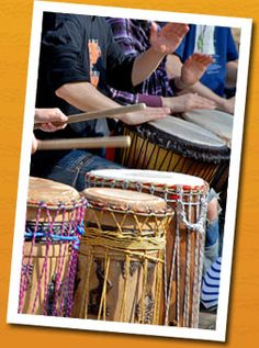 Dream Job - Using drums to help others via drum therapy: http://healing.about.com/od/drums/a/drumtherapy.htm love this!