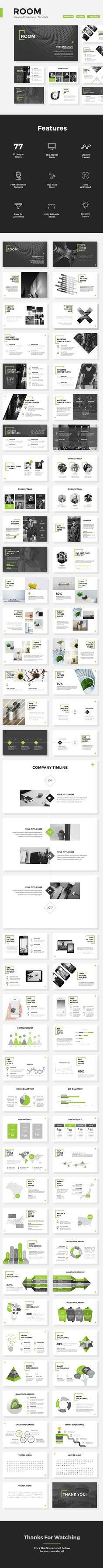 Room - Creative Powerpoint Template - Creative PowerPoint Templates