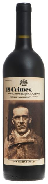 19 Crimes Shiraz Durif.  Full bodied wine with an interesting story behind it. I recommend it :)